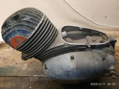 Motor na zetku  čz 125 150 C atd.č.82
