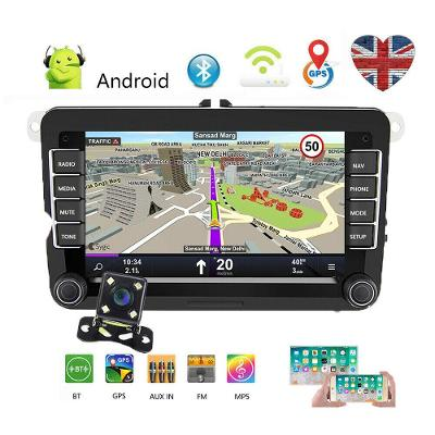Nové 2din autoradio VOLKSWAGEN SKODA SEAT, Android VW, WIFI, USB, GPS