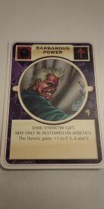 Doomtrooper - Barbarous Power (EN)