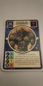 Doomtrooper - Golem of Darkness (EN)
