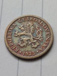 10 haléř 1933 vzácnější od koruny !!