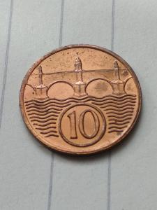 krásný 10 haléř 1937  od 1 koruny !!