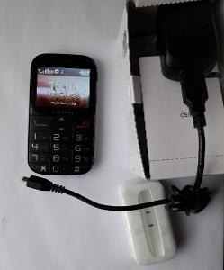 mobilní telefon pro seniory ALCATEL 2000X černý