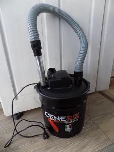 Vysavač popela CENERIX 800W 18L od korunky - 1Kč