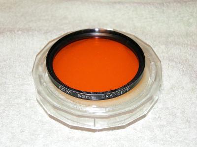Oranžový filtr G ROWI 52mm