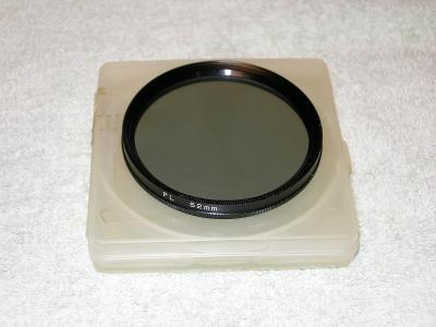 Polarizační filtr PL 52mm