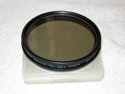 Polarizační filtr HELIOPAN Circ. Pol. 67mm Germany