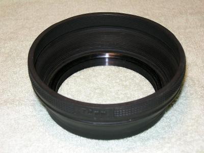 Sluneční clona gumová 72mm