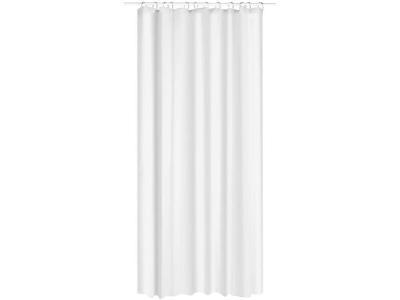 Sprchový závěs EVA bílý, 180 x 200 cm