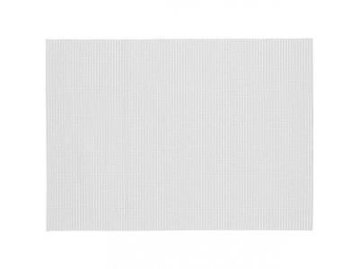 Pěnová koupelnová rohož 65x90 cm, barva bílá