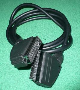 Propojovací kabel Scart - Scart dlouhý 60 cm, více v popisu.