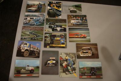 Staré prospekty závodních automobilů 1