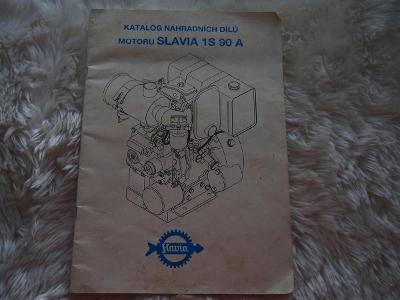 Katalog nahradních dílů motoru SLAVIA 1S90A - STUDIO VYŠKOV