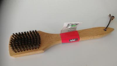 Weber čistící kartáč na grily s dřevěnou rukojetí