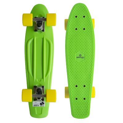 Plastic Penny Board SPARTAN - zelený