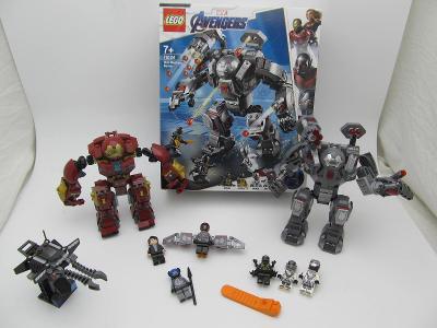 Lego set Super Heroes 76124 + 76104 original navody + 1 figurka na vic