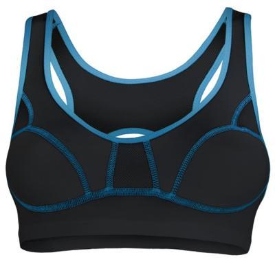 Sportovní podprsenka SENSOR Lissa černo-modrá v