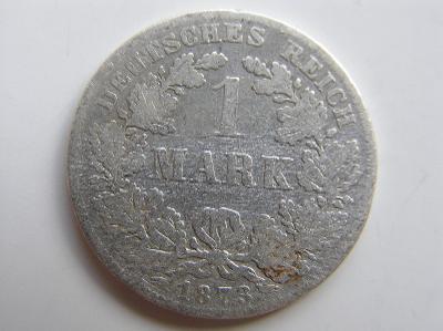 mince 1 marka 1873 F R!