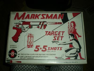 Pistole Marksman - target set No.422