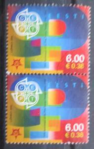 Estonsko 2006 Výročí Evropa CEPT pár Mi# 537 1670