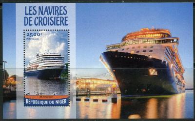 Niger 2016 Výletní lodě Mi# Block 541 Kat 10€ 1692