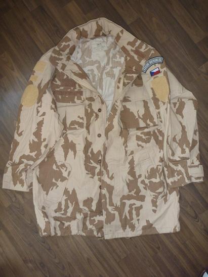 Kabát vz. 95 AČR - kongo pouštní 170-100 - Vojenské