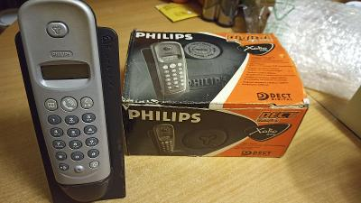 PHILIPS XALIO 200...Bezdrátový digitální tel.na pevnou linku.