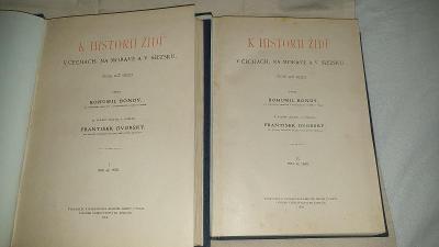 K historii židů v Čechách, na Moravě a v Slezsku-vydáno 1906