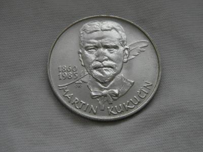 1985 - 100 Kčs - Martin Kukučín - BK