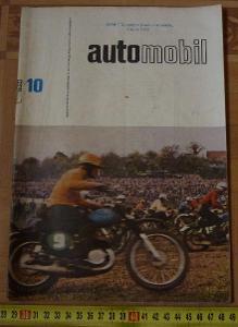 ČASOPIS AUTOMOBIL 1964 10 . SPOJKA JAWA AUTOMATIC , SIMCA 1000