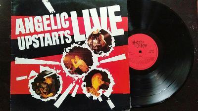 ANGELIC UPSTARTS - Live, 1981, VG+/EX