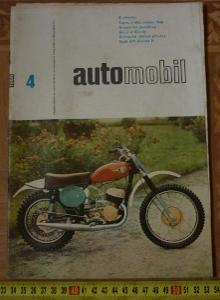 ČASOPIS AUTOMOBIL 1966 4 - TATRA 2 603 MODEL 1966 , MOSKVIČ 407