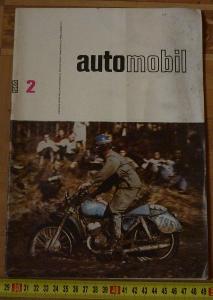 ČASOPIS AUTOMOBIL 1965 2 BMW LS KUPÉ , RENAUT 4 CV TYP 1062
