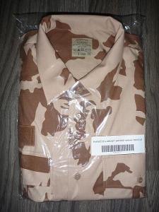 Košile vz. 2000 s béžovým potiskem AČR - vel. 182/43-44