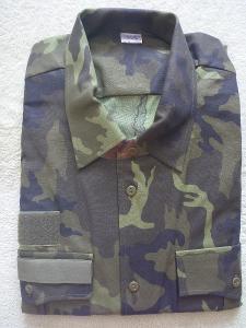 Košile vz. 2000 se zeleným potiskem vz. 95 AČR - vel. 170/43-44