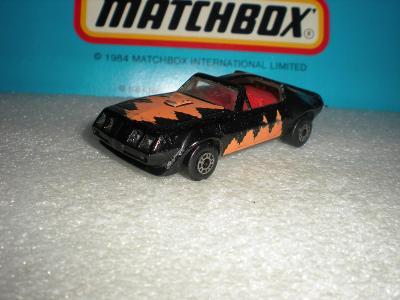 Matchbox Pontiac Firebird T-roof  r.1983 U.S.A. verze