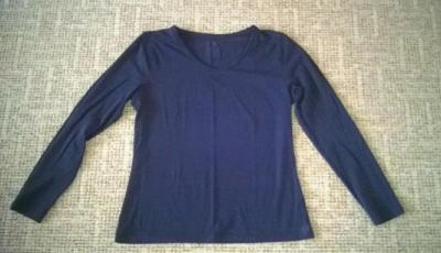 Modré triko