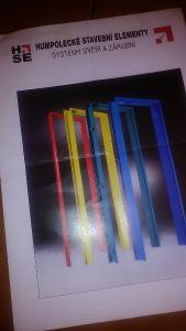 Katalog HSE - Humpolecké stavební elementy - systém dveří a zárubní