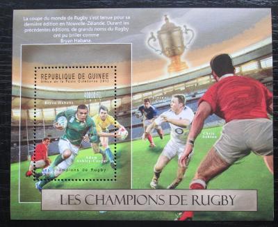 Guinea 2012 Rugby Mi# Block 2116 Kat 16€ 1508