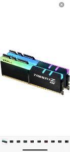 G.SKILL 16GB KIT DDR4 3200MHz CL16 Trident Z RGB