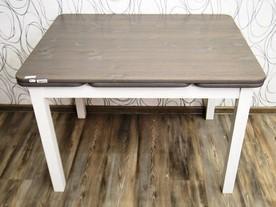 Jídelní stůl rozkládací, dřevo masiv (20032B)