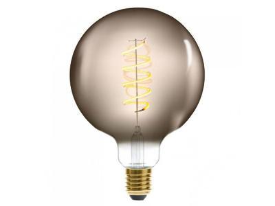 Dekorativní žárovka LED SOFT UDENÁ, G125 4W, barva