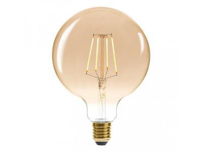 Dekorativní skleněná žárovka, 17 cm