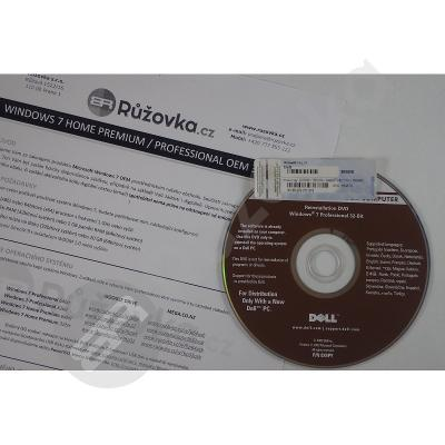 Microsoft Windows 7 Professional CZ 32bit / 64bit