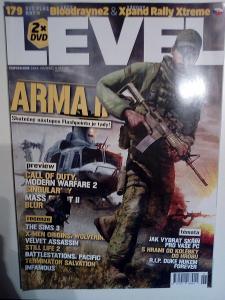 Časopis Level, č. 179, top stav