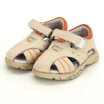 Dětské sandále Rasca Y Pica béžové