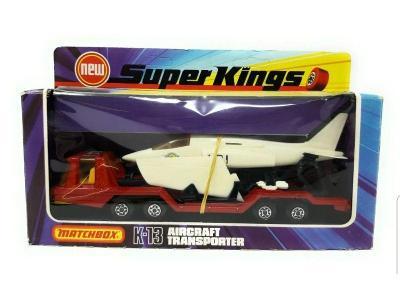 Matchbox Super Kings K-13-2 K-114 Airplane Transporter