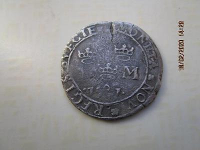 Švédsko Johan III  - Marka 1591 RR