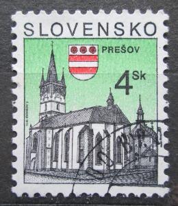 Slovensko 1998 Kostel v Prešově Mi# 326 1538