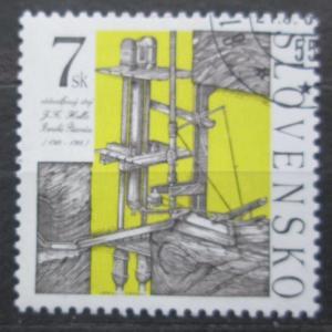 Slovensko 1999 Vodosloupcový stroj Mi# 348 1539